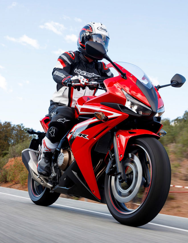 Book a test ride on on of our Honda Range